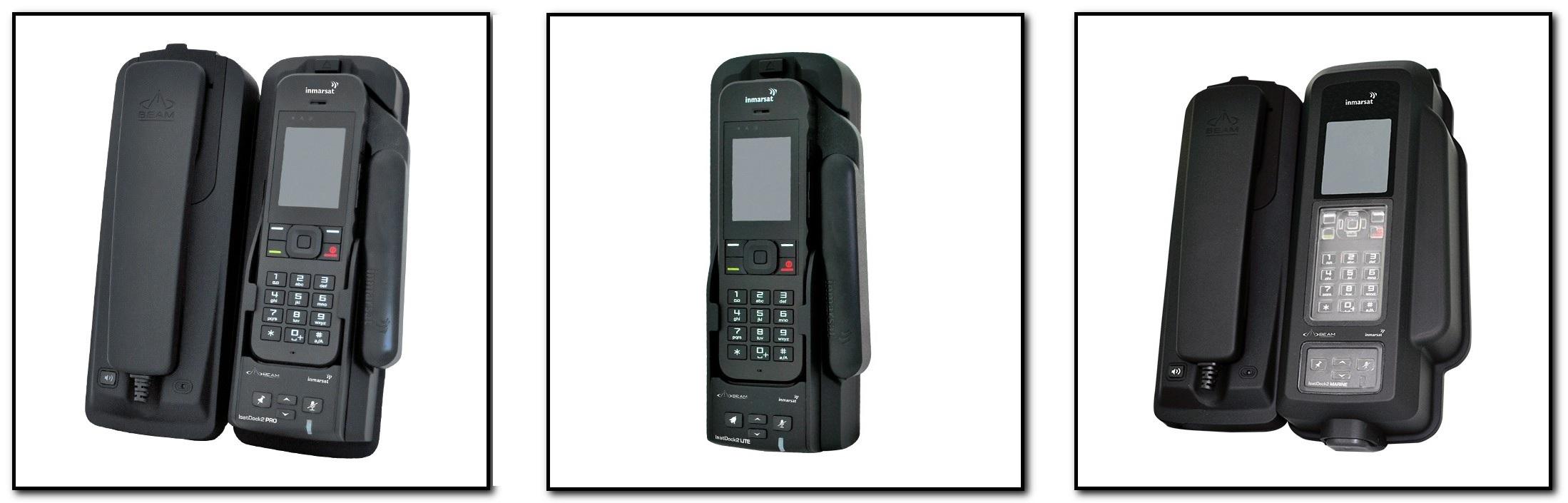 Basisstationen für Inmarsat Satellitentelefone