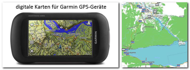Garmin GPS Karten