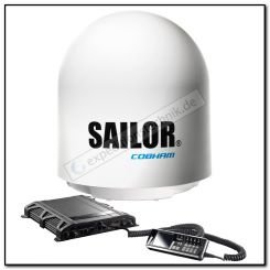 Inmarsat Fleet BroadBand Sailor 500 marine inkl. IP Handset