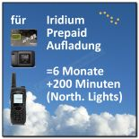 Iridium Prepaid 6 Monate / 200 Minuten Northern Lights