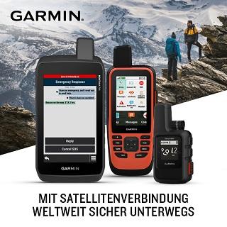 GARMIN - MIT SATELLITENVERBINDUNGEN WELTWEIT SICHER UNTERWEGS