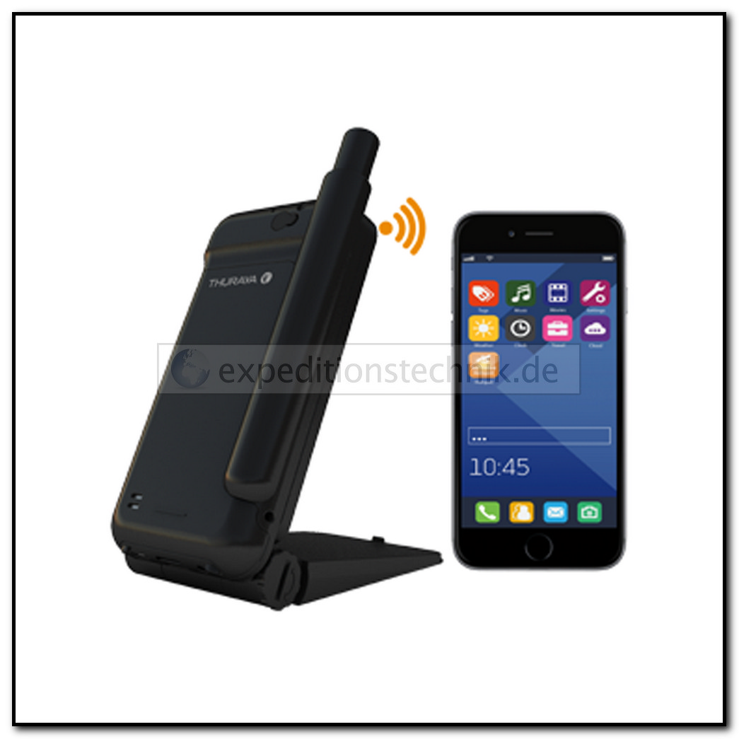 Thuraya SatSleeve Hotspot Support