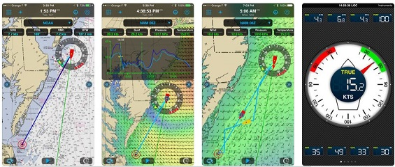 Beispiel Weather 4D Pro App